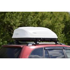 "Автобокс ""Turino Compact"" 360л, (Белый матовый) односторонний"