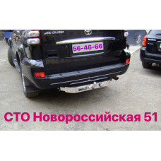 Фаркоп на Toyota Land Cruiser Prado 120, 2003-2009г.